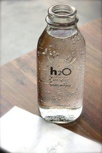 water-flesje