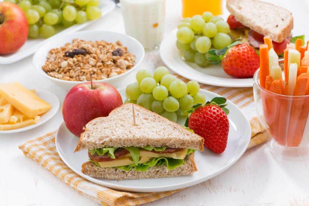 vezelrijke lunch-ideeën - maag lever darm stichting