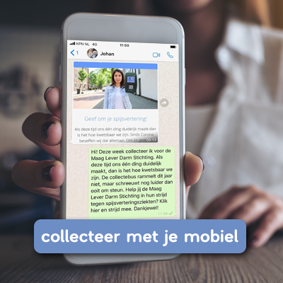 collecteer via mobiel