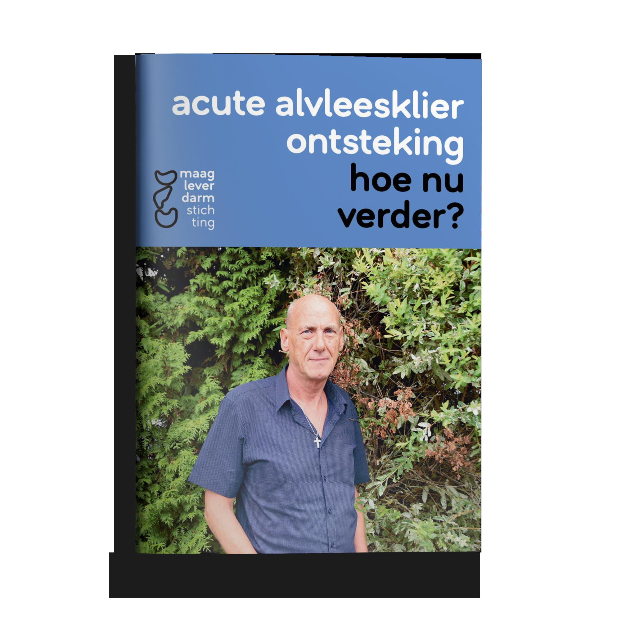 Brochure acute alvleesklierontsteking