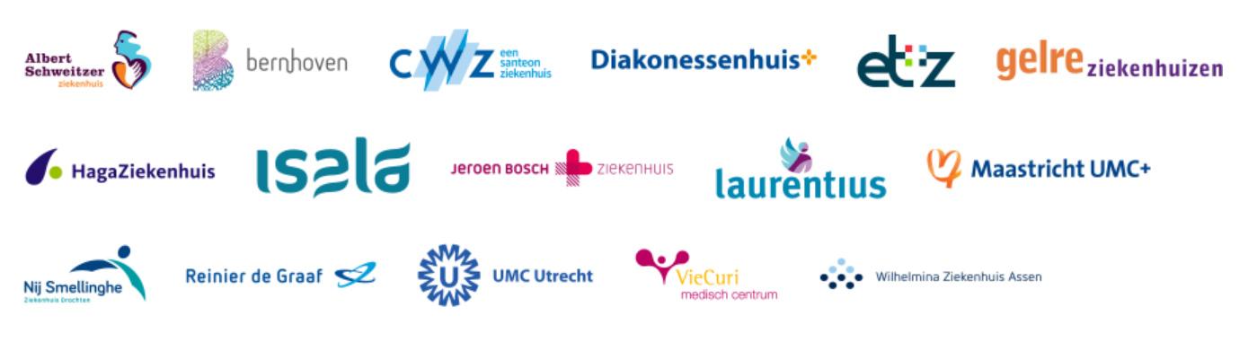De 16 ziekenhuizen die de keuzehulp darmkanker aanbieden