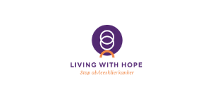 Logo Living with Hope Alvleesklierkanker