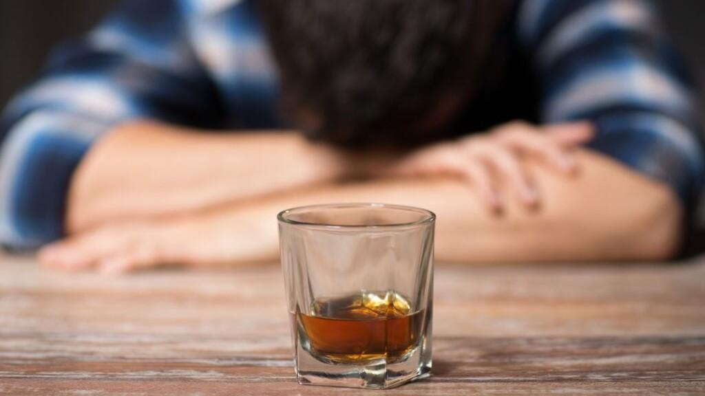 Glas alcohol