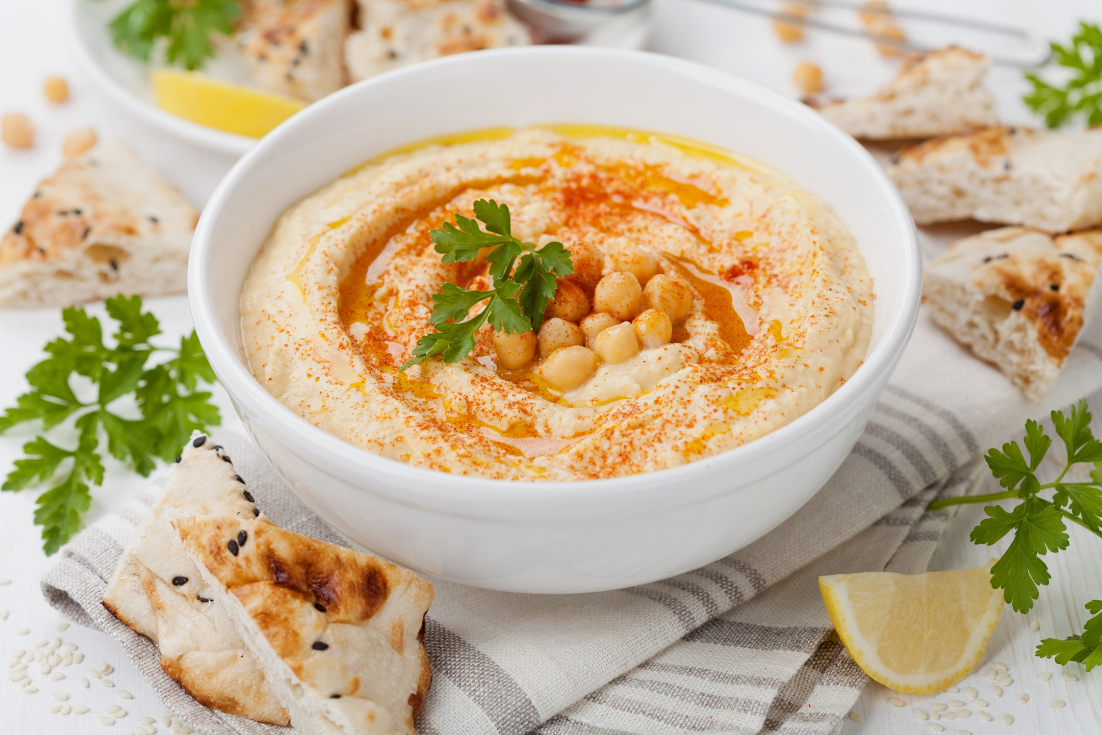Hummus verkleind