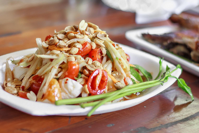 Thaise salade verkleind